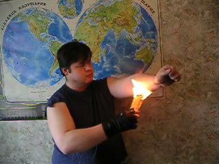 Как сделать пламя которое не обжигает - Sertkom.ru